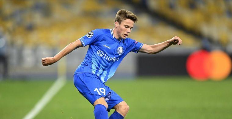 Nog meer goed nieuws voor Samoise, na debuut nu ook contractverlenging bij Gent