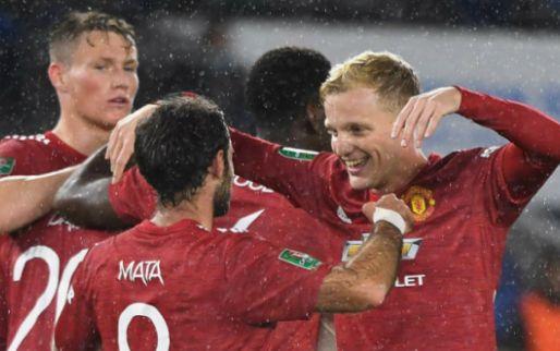 Afbeelding: Van de Beek maakt indruk op ploeggenoot bij United: 'Altijd op juiste positie'