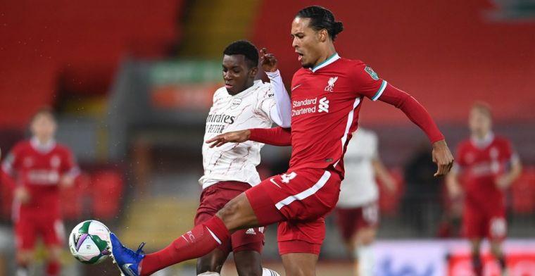 Dure misser van Origi zorgt voor verlies van Liverpool tegen Arsenal