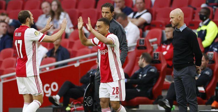 'Moeilijk om afscheid te nemen van Ajax, ik wil hier echt nog spelen'