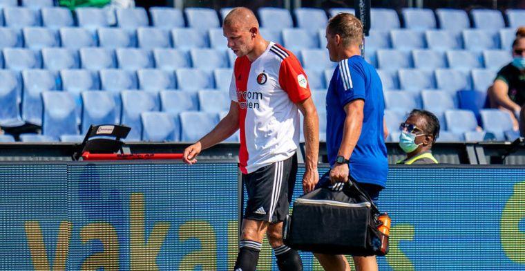Dramatische start seizoen voor Van Beek: 'Snap goed dat de trainer verder kijkt'
