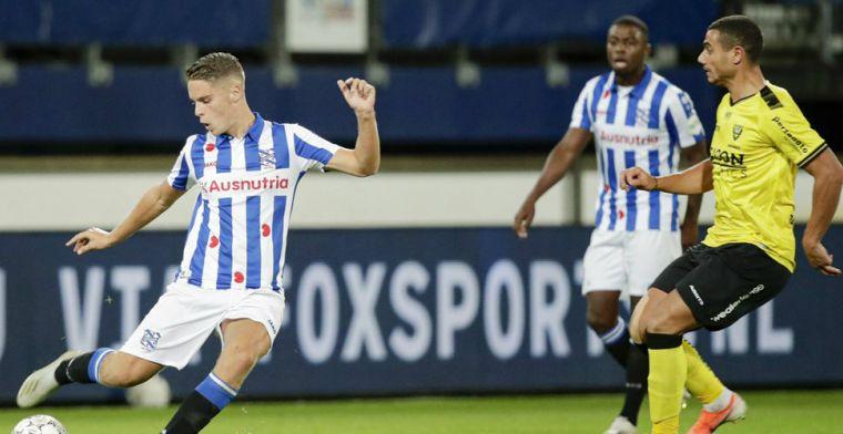 'Heerenveen mag hopen op langer verblijf Veerman: Southampton verlegt aandacht'