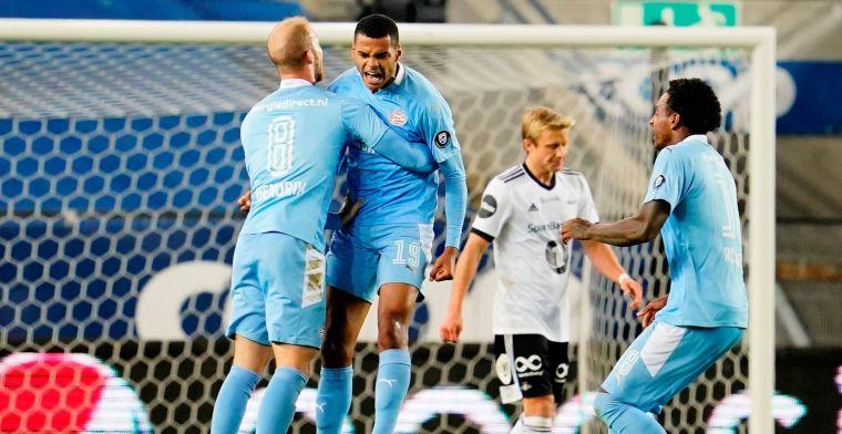 LIVE: PSV is zeker van groepsfase Europa League na zege op Rosenborg (gesloten)