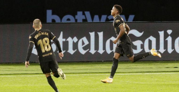 Droomstart voor Koeman: Fati en Messi bezorgen Barça-tiental ruime zege