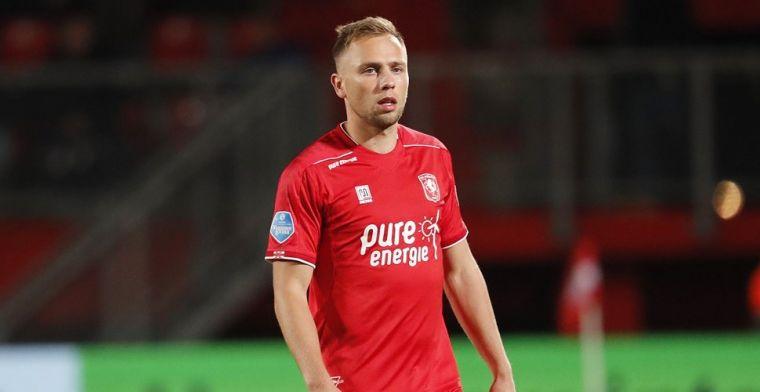 FC Twente raakt basisspeler Schenk verrassend kwijt: 'Uiteraard dubbel gevoel'