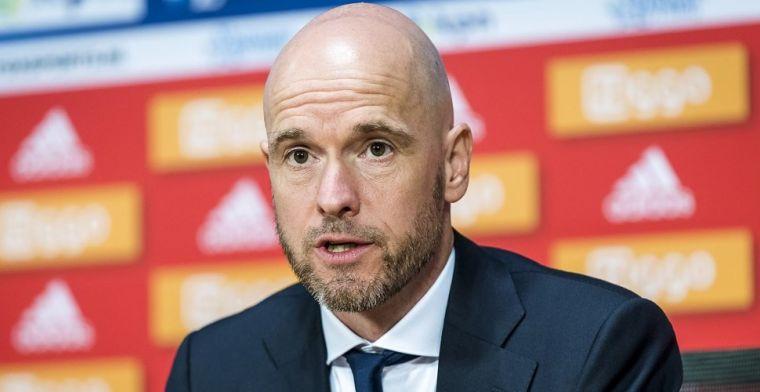 Ten Hag hoopt op nog één Ajax-transfer: 'We zijn ermee bezig'