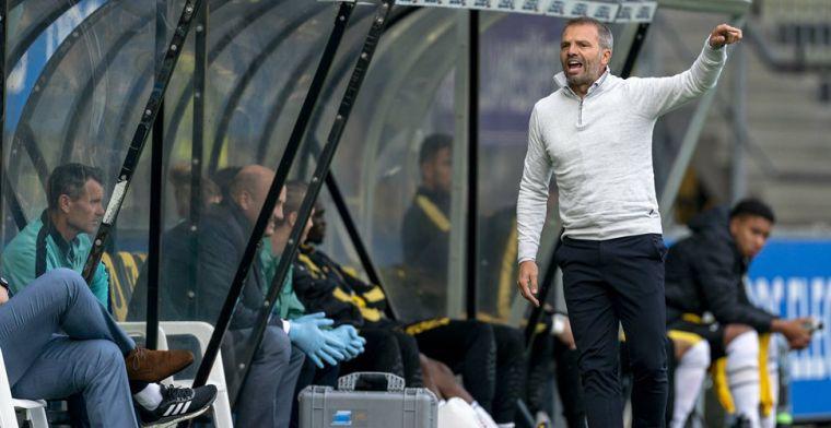 Slecht nieuws voor NAC: trainer Steijn ontbreekt tegen Jong Ajax