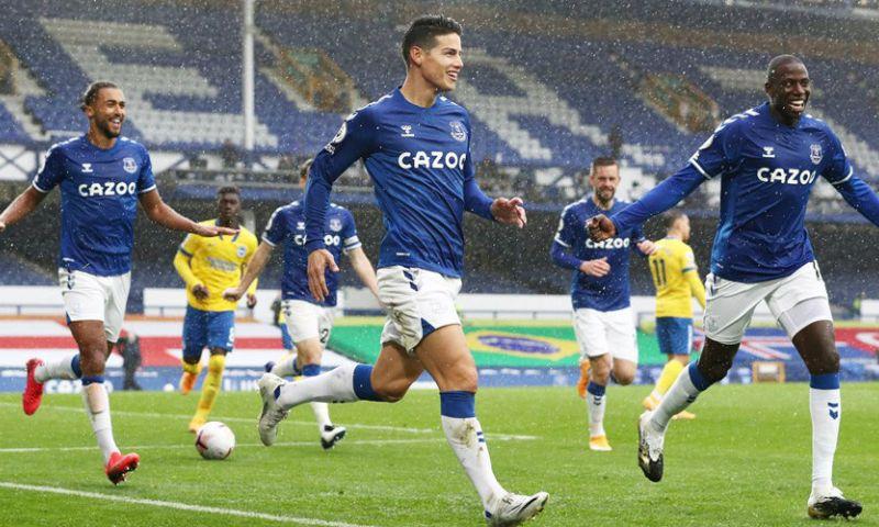 Afbeelding: Everton blijft maar winnen in PL: Calvert-Lewin en Rodríguez stelen de show