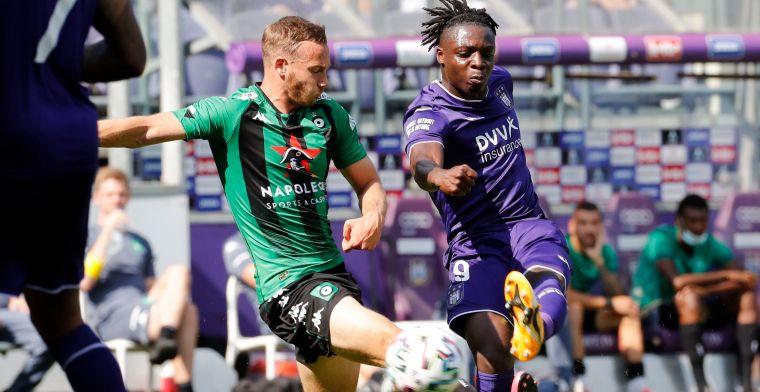 OFFICIEEL: Doku verlaat Anderlecht met pijn in het hart