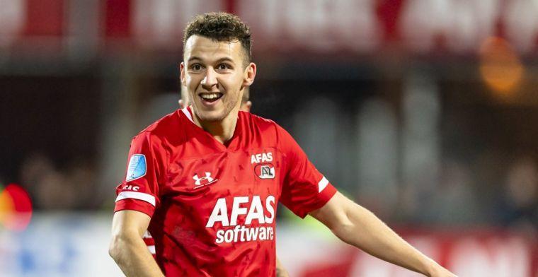 Update: Huiberts bevestigt transfer van Idrissi, 'AZ ontvangt minimaal 12 miljoen'