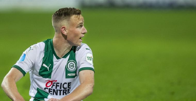 FC Groningen laat talentvolle Postema (18) op huurbasis gaan: Een mooie toekomst