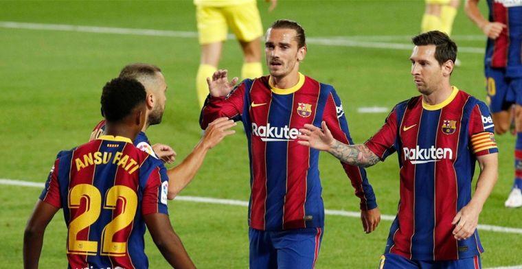 'Niet makkelijk met grootheid Messi, maar Griezmann is toekomst van Barça'