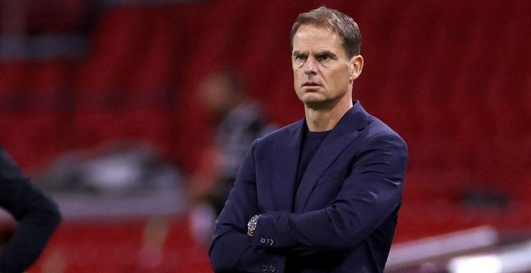 Koude douche voor De Boer bij Oranje-debuut: verdiende nederlaag tegen Mexico