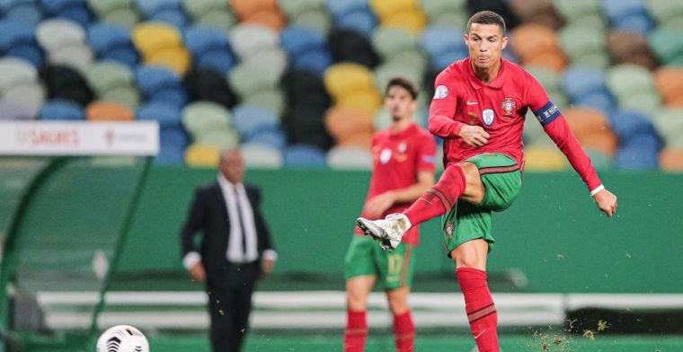 'Ronaldo krijgt na interland Portugal nieuws over inbraak in villa te horen'