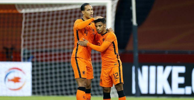 Complimenten voor Oranje-debutanten Wijndal en Koopmeiners: 'Uitstekend gedaan'