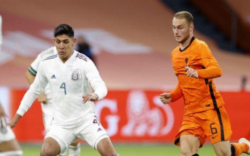Afbeelding: Álvarez en Koopmeiners langs meetlat: '30 interlands, kampioen en speelde op WK'
