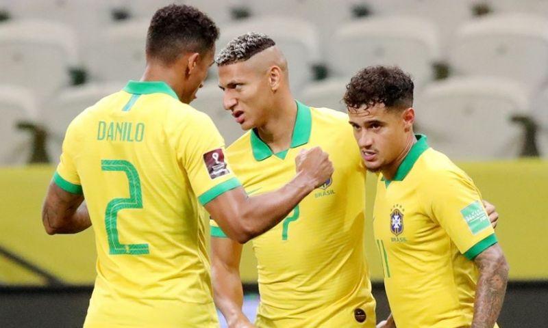 Afbeelding: Brazilië en Colombia beginnen met overtuigende zege aan WK-kwalificatie