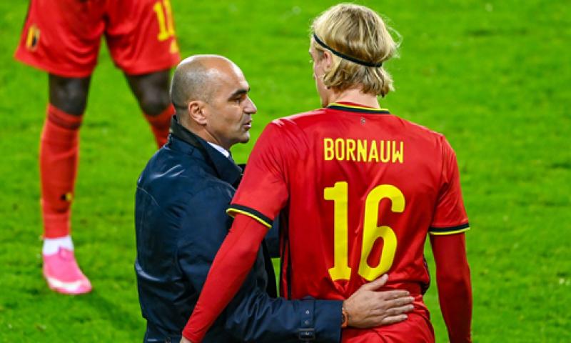 Afbeelding: Verheyen legt Vanheusden en Bornauw op de rooster na debuut voor België