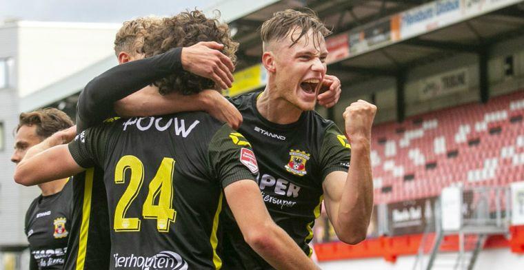 Peters bezorgt TOP Oss in slotfase punt tegen Telstar, Almere verslaat ook Roda