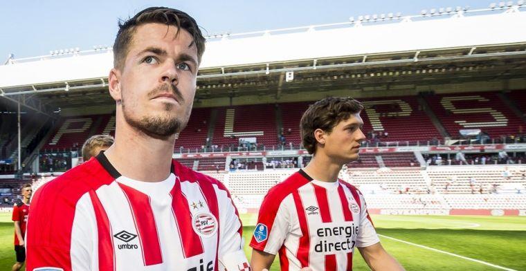 PSV brengt Van Ginkel langzaam: 'Verwacht dat hij tot december niet zal spelen'