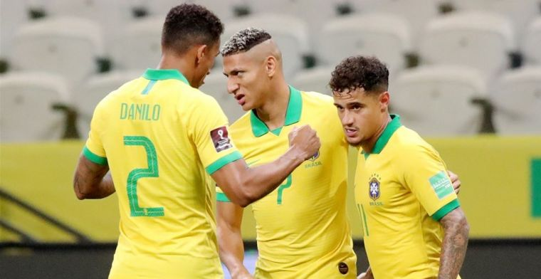 Brazilië en Colombia beginnen met overtuigende zege aan WK-kwalificatie