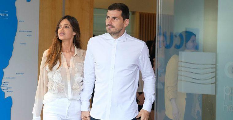 Casillas: 'Een van eerste mensen die vroeg hoe het met me ging na mijn hartaanval'