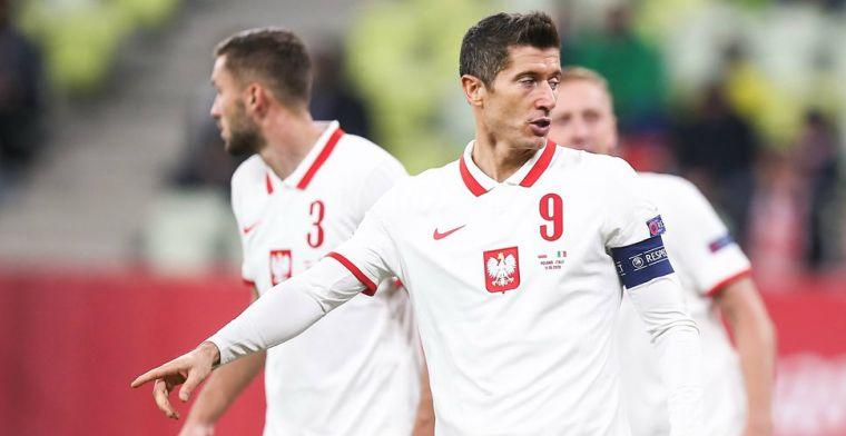 Polen houdt Italië op gelijkspel en neemt tweede plaats weer over van Oranje