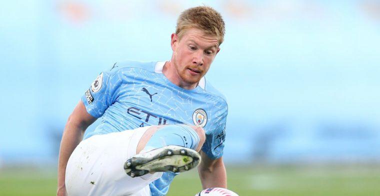 Manchester City-smaakmaker sluit nieuw contract niet uit: 'Nog niet gepraat'