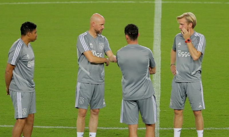 Afbeelding: 'Ajax moet rekening houden met vertrek assistent: Kopenhagen zoekt trainer'