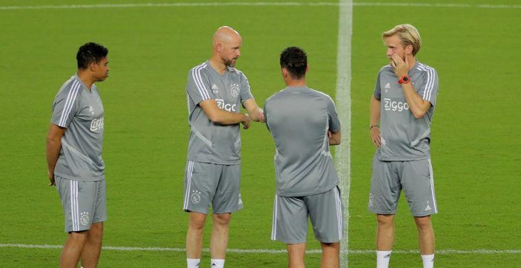 'Ajax moet rekening houden met vertrek assistent: Kopenhagen zoekt trainer'