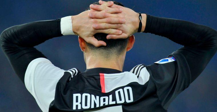 Clash tegen Barcelona en Messi onzeker voor Ronaldo na coronabesmetting