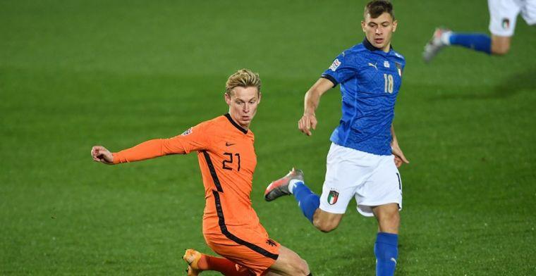 Spelersrapport Oranje: absolute uitblinker én dissonant tegen Italië