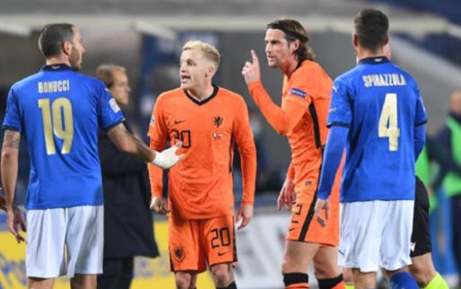 Afbeelding: Bonucci: 'Dat betekent dat Nederland ons respecteert en bang is voor Italië'