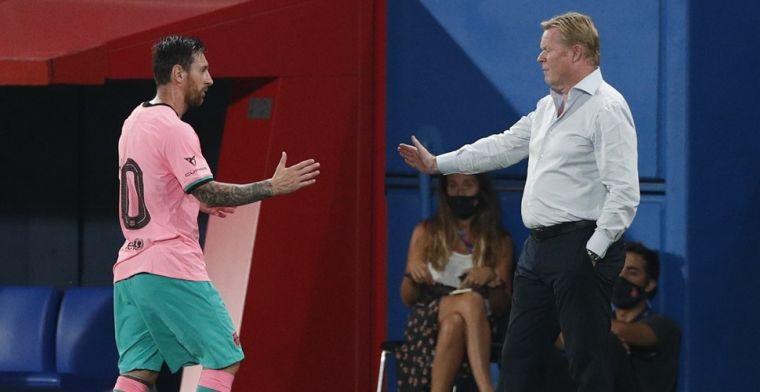 Koeman maakt indruk in Barcelona: 'Messi zei dat ze in goede handen zijn'