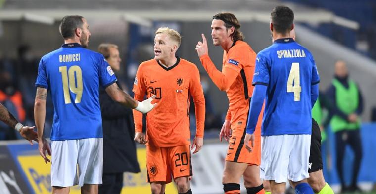 Bonucci: 'Dat betekent dat Nederland ons respecteert en bang is voor Italië'