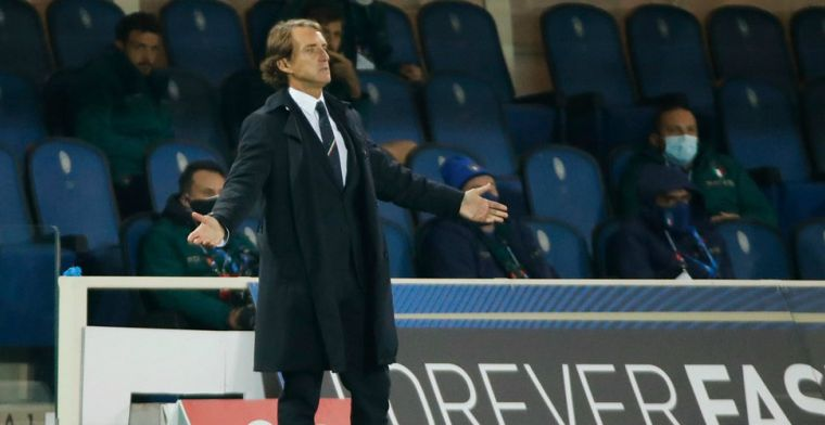 Mancini vergeet Oranje in Nations League-poule: 'Met Polen strijden om koppositie'