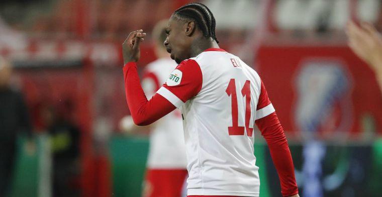 Elia opnieuw reserve bij gehavend FC Utrecht: 'Ik zag dat het nog moeizaam ging'