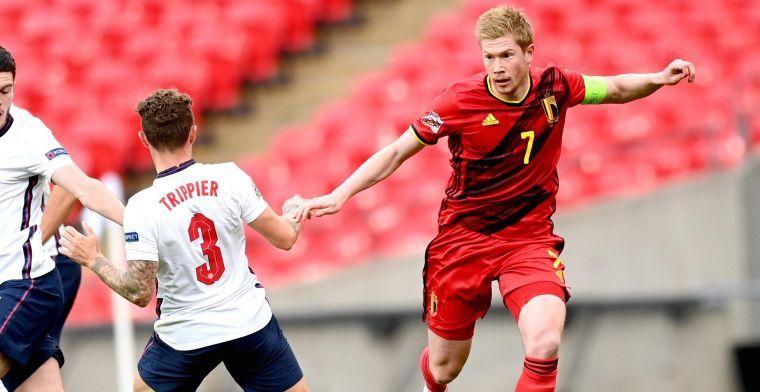 De Bruyne kampt dan toch met een blessure: Hij zal enkele wedstrijden missen