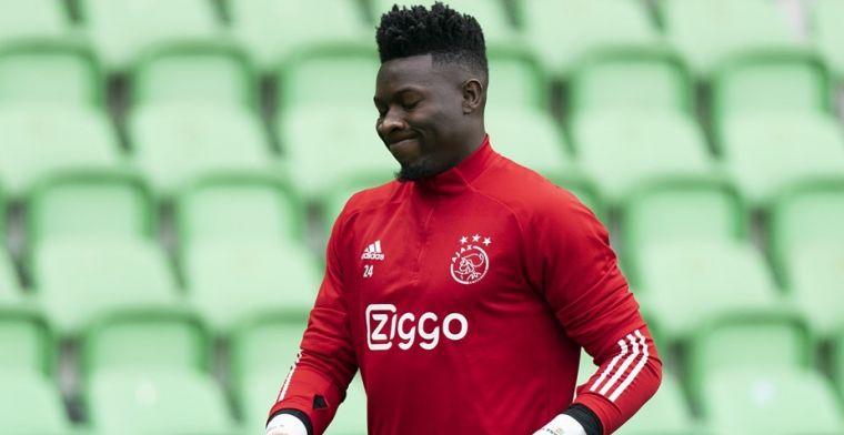 Onana belooft beterschap bij Ajax: 'Dat hoef je deze groep niet uit te leggen'