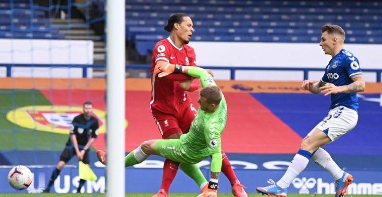BeIN Sports: Van Dijk heeft kruisbandblessure opgelopen tegen Everton