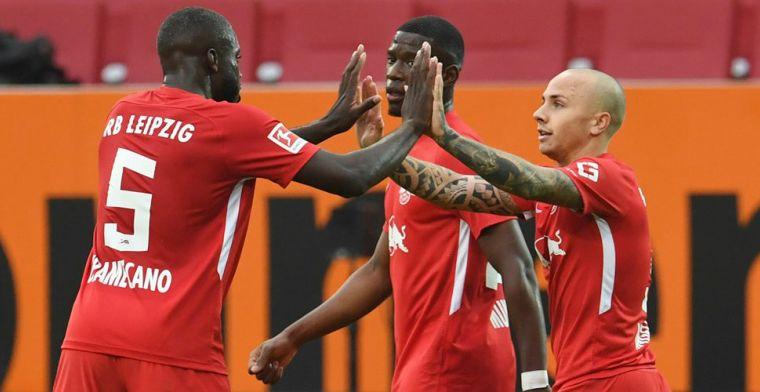 Leipzig wint direct duel om plek 1, invaller Haaland helpt BVB over dode punt heen