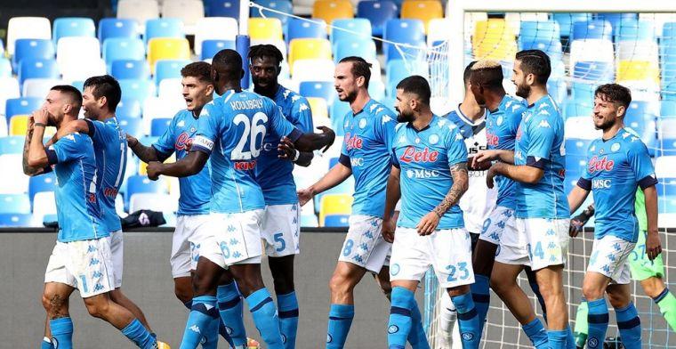 Mertens en Osimhen blinken uit bij Napoli en halen stevig uit tegen Atalanta