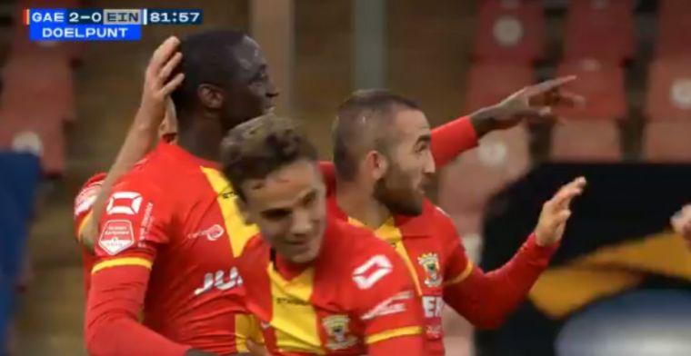 Guess who's back: Mulenga heeft twaalf minuten nodig om net te vinden bij debuut