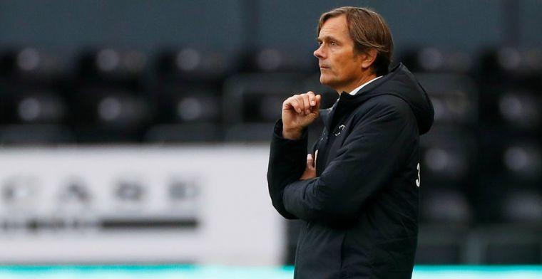 Cocu zwaar onder vuur bij Derby County: 'Hadden een zege verdiend'