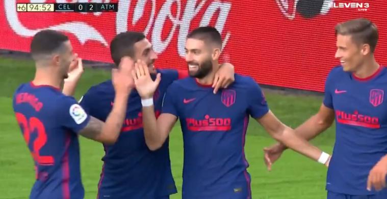 GOAL: Carrasco scoort eerste competitiedoelpunt voor Atlético Madrid