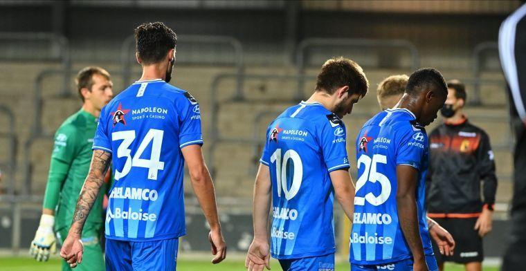 OPSTELLING: Bolat start in goal bij KAA Gent tegen Cercle Brugge