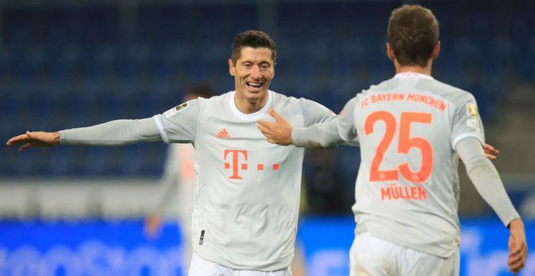 Bayern heeft geen kind aan Bundesliga-promovendus, Doan trefzeker bij Bielefeld
