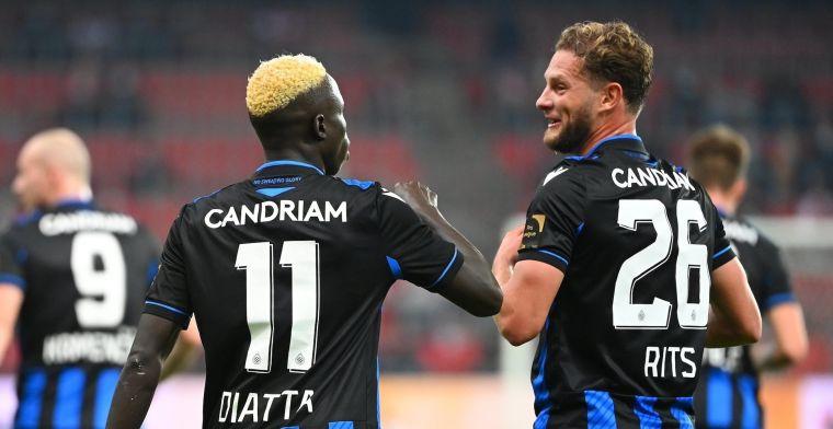 LIVE: Standard maakt gelijk maar de VAR grijpt in, Club Brugge houdt stand