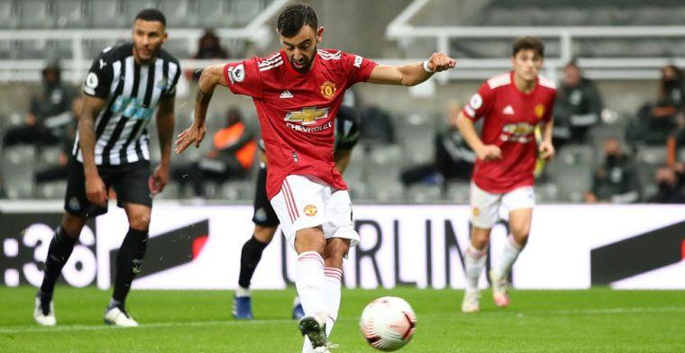 Kwakkelend Man U richt zich op: revanche van Fernandes na zeldzame penaltymisser