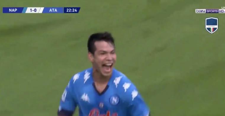 Lozano laat zich zien: twee goals binnen vier minuten tegen zwak Atalanta